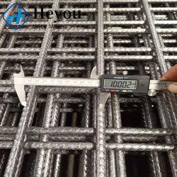 SL52/SL62/SL72/SL82/SL92/SL102/SL81 carré avec maille côtelée en acier de renforcement comme-NZS4671 standard de 6,75 mm de diamètre de fil 200mm de maillage pour la construction de l'espace, le pont