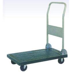 Plattform-faltende Plattform Handtruck der Garten-Hilfsmittel-100kg pp. mit Fußrolle 4inch