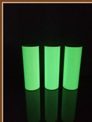 Sicherheitsschild Lumineszenz Vinyl Foto Lumineszenz Film Beenden