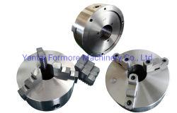 Mandrino manuale autocentrante del rotolo della mascella del tornio tre di CNC