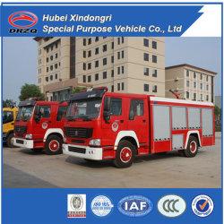 Neues 6t Sinotruk Dry Powder Fire Fighting Truck
