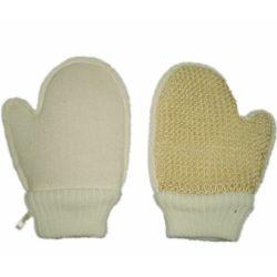 Sisal-Handschuh-Karosserien-Wäscher-Bad-Handschuh (KLB-096)