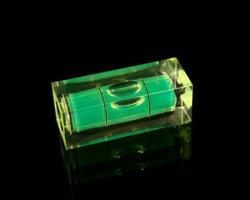 正方形のブロックのレベルのガラスびん(EV-V903)