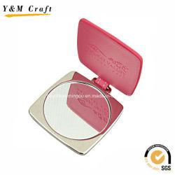 Aleación de zinc personalizadas / PU Espejo de Bolsillo YM1153