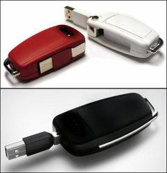Clé de voiture pivotant contextuel Style Voiture Lecteur Flash USB Pen Drive (CK001)