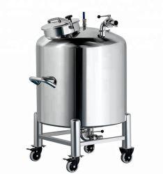 Homogeneizador emulsificación de alta velocidad de calentamiento al vapor químico líquido depósito mezclador de acero inoxidable para Cosmética