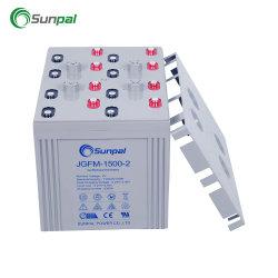 Transpalette électrique solaire commercial Batterie Gel 2 V Volt 1500 2000 2400 3000 5000 6000 Wh
