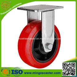 De vaste Rode Gietmachine van het Wiel van de Kern van het Polyurethaan Plastic