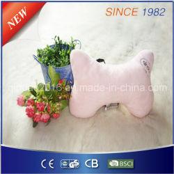 プラシ天の羊毛の苦痛を解放するための電気マッサージの暖房の枕