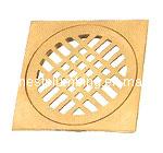 Высокое качество душ квадратных полного латунные пол слива
