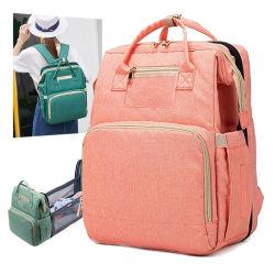 다기능 여행 엄마 가방 아기 기저귀 가방 워터프프루프 병원 출산 배낭형 아기 침대 기저귀 가방