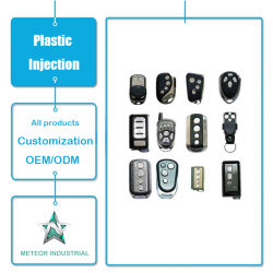 Produtos de moldagem por injecção de plástico personalizada controle remoto eletrônico invólucro de plástico