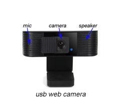 Caméra Web USB avec Microphone et haut-parleur hi-fi
