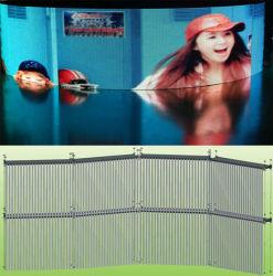 LEDの透過ビデオ・ディスプレイのカーテン(P6、P10、P12、P16)