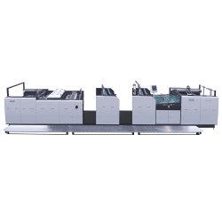 Yfma-1300 قطوع آلي كامل Auto ايضف على الجانب المزدوج الترقق ساخنة آلة الترطيب التلقائية متعددة الوظائف للف للطباعة الحرارية لقاعدة الغراء تغليف