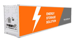 Sistema de almacenamiento de energía de batería solar contenedor con diez años de garantía
