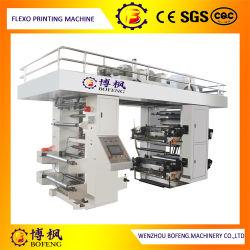 4 El Color de alta velocidad de control PLC saco no tejido de las bajas de la máquina de impresión flexográfica de tinta por el agua