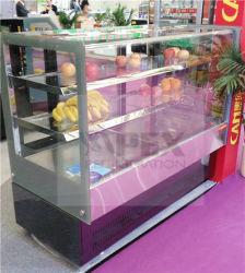 Gâteau de haute qualité commerciale et patisserie vitrine de présentation réfrigérés chiller