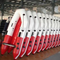 Liya 2m-6.5M ПВХ ткани надувные лодки воздушного судна