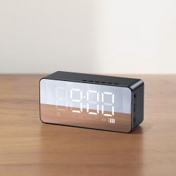 사운드 미니 다기능 알람 시계 큰 소리 오디오 무선 Bluetooth를 사용합니다 스피커