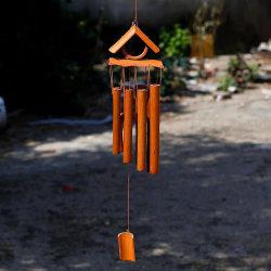 卸し売り新しいカスタムハンドメイドの回転3つのDのタケ風チャイムホーム庭の装飾のギフトのための着く
