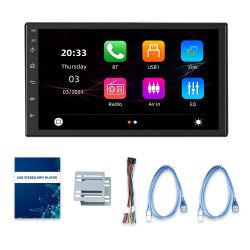 شاشة شاملة مقاس 7 بوصات تعمل بنظام التشغيل Android Auto سلكية بنظام التشغيل Android Auto فيديو MMP5 لراديو السيارة Stereo 2 DIN