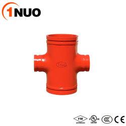 溝を作られる延性がある鋳鉄の中国の専門の製造業者十字を減らす