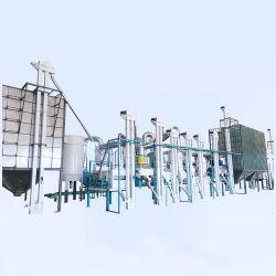 50-60米へのトンか日の完全な自動米製造所の水田