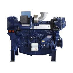 Injecção directa de 6 Cilindros arrefecidos a água do motor diesel marítimo