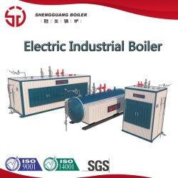 Scaldacqua del vapore industriale orizzontale di induzione elettrica 0.5-4t/H