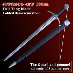Espadas Medieval com espada artesanais 105cm085Jot cu-1FD