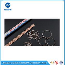 Ligas de brasagem Phos-Copper-estanho/Base de alumínio Ligas de brasagem/Fio de Solda e Anel de brasagem