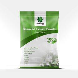 Fertilizante orgánico 100% Natural negro en polvo Extracto de Algas Marinas