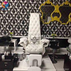 Design Luxruy caseira SPA Pedicure Plataforma cadeira com bacia de pé
