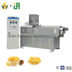 Automatique de souffler les céréales petit déjeuner les croustilles de maïs des flocons de maïs de la machine faisant l'Extrusion de prix des fabricants de la machine