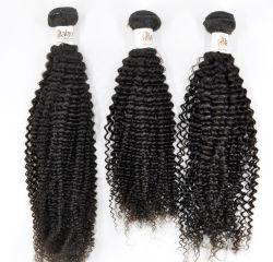 100% Kinky фигурные китайский необработанные Virgin человеческого волоса расширений (отбеливатель блондинка) с 3 лет на весь срок службы