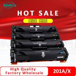 Cartuccia di toner compatibile stabilita dell'HP 201X CF400X CF401X CF402X CF403X di alta qualità per HP PRO M252n M252dw M277n M277dw