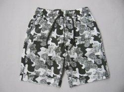 Мода мальчик короткие брюки детей Poplin Бермудских островов с Aop