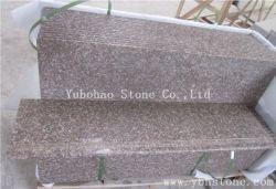 G687 roter Granit, Pfirsich-Rosa für Platte/Fliese/Bordstein/Cubestone, Kopfstein, der die Ziegelsteine/pflastern Fliesen pflastert