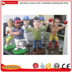 Figurines Polyresin Bobble Chef de l'homme Bobblehead Doll Cadeaux