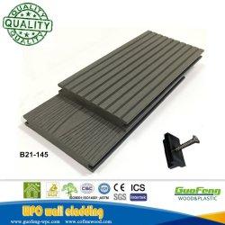 O composto de plástico de madeira Boards deck da piscina Revestimentos exteriores