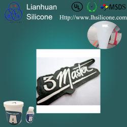 Form prägte kundenspezifischen Gummi des Silikon-3D für die Herstellung des Kennsatzes