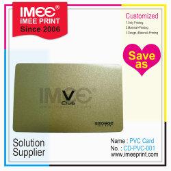 Imee modello di disegno personalizzato Stampa a colori Sconto d'Oro per l'iscrizione VIP Scheda PVC