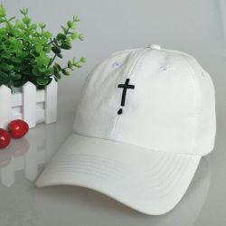 Kundenspezifische Freizeit-weiße Partei-Hut-Baseballmütze-Hut-Stickerei