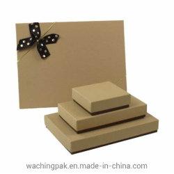 De kleine Middelgrote Grote Verpakking van het Vakje van het Karton van het Vakje van de Verpakking van het Document van het Karton van het Deksel en van de Basis van de Grootte