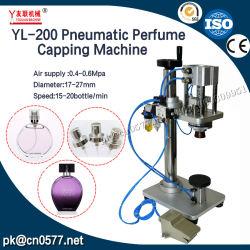 Macchina di coperchiamento della bottiglia pneumatica per le gocce di occhio (YL-200)