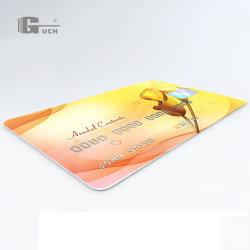 Oro/Plata/Blanco mascota de inyección de tinta de impresión de hojas para hacer Card