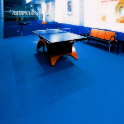 PVC Tareflex Vinly Sport Flooring voor tafeltennis Litchi patroon