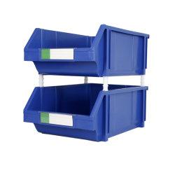 Het plastic Kabinet van de Lade van de Opslag gebruikte de Extra Stapelbare Doos van Delen