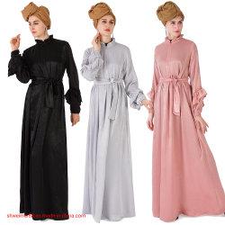 Kaftan para las mujeres, musulmanes Casyak Maxi Vestido de manga larga Bata, el desgaste del partido normal